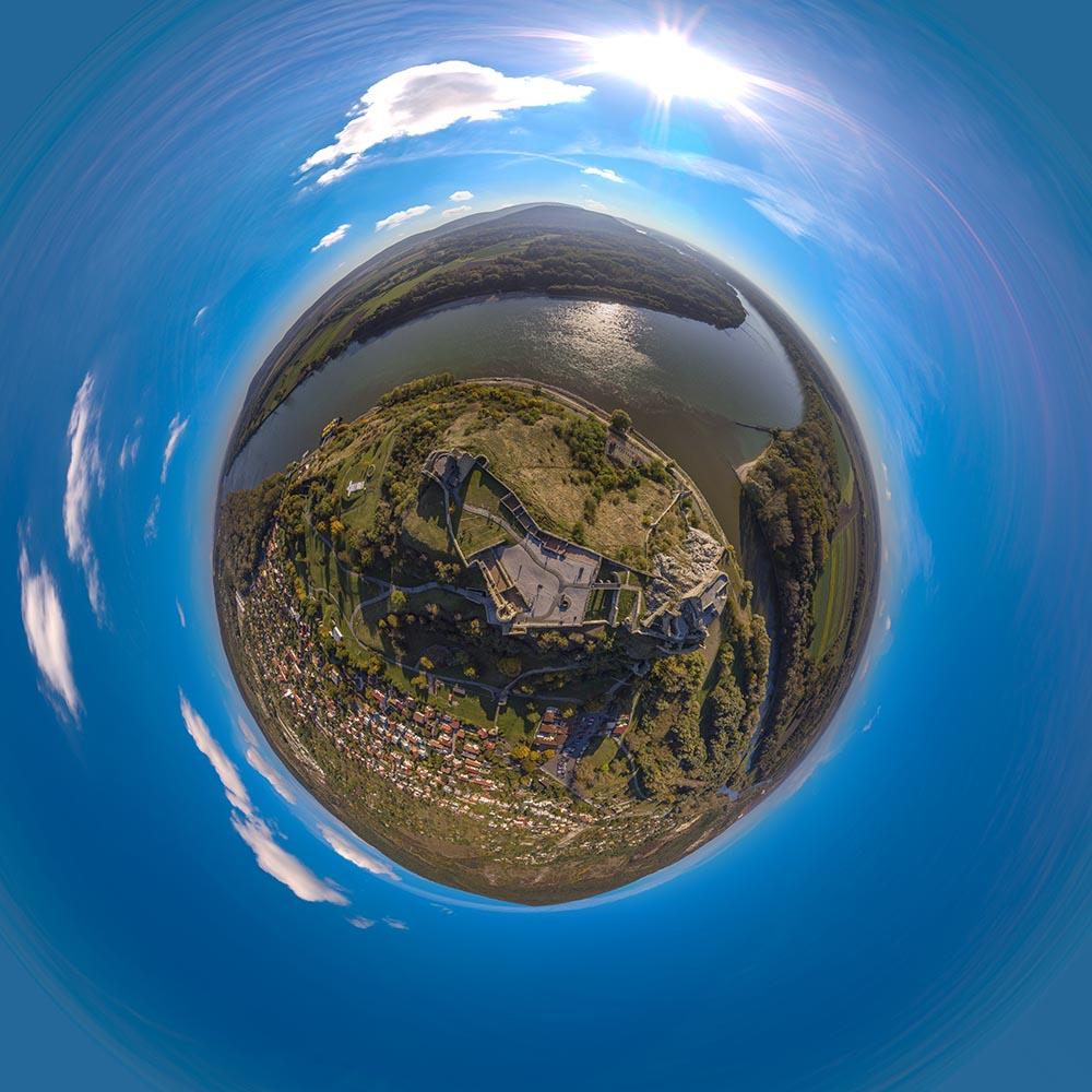 Panoramaticke fotky z dronu