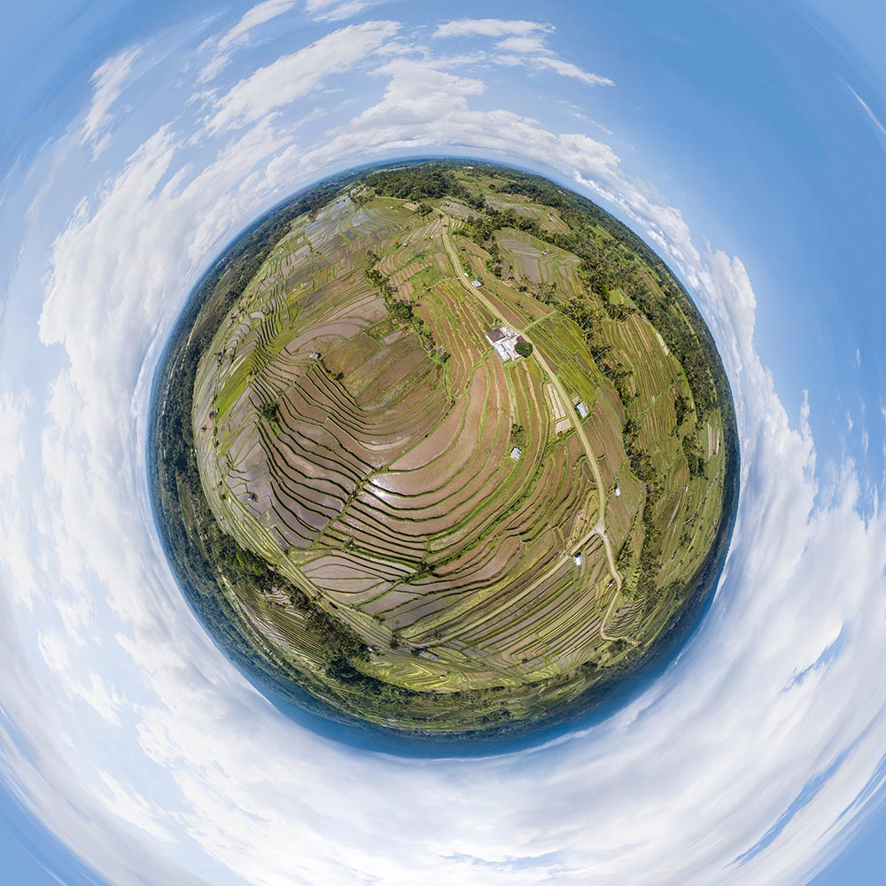 Letecke panoramy z dronu